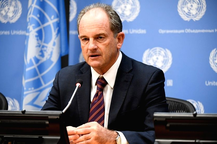 David Shearer, the head of the United Nations Mission in South Sudan.