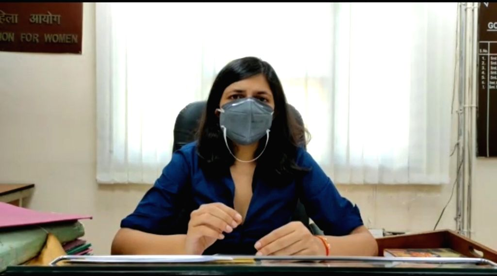 DCW chief Swati Maliwal after meeting 12 year old Rape victim