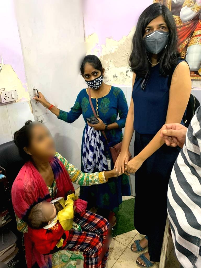 DCW rescues 2.5 month old girl who was sold several times, 5 arrested.