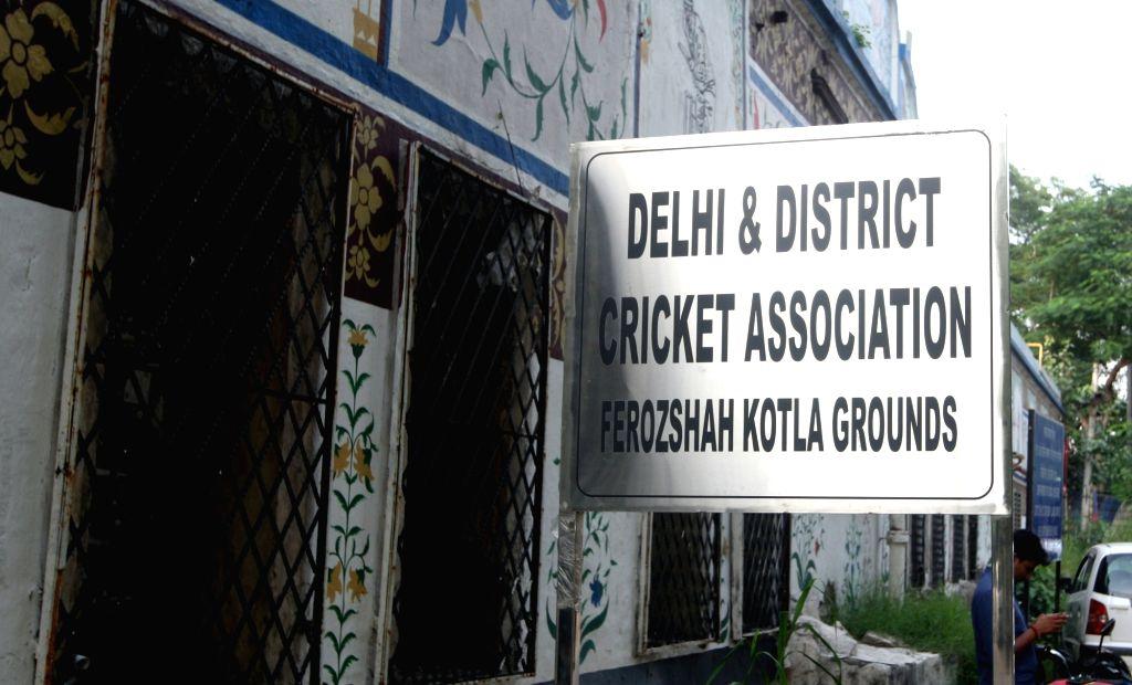 DDCA. (File Photo: Bidesh Manna/IANS)