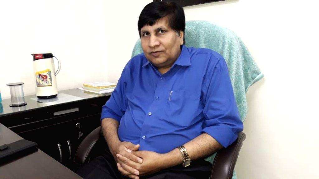 DDU forensic department head Dr. B. N. Mishra. - B. N. Mishra