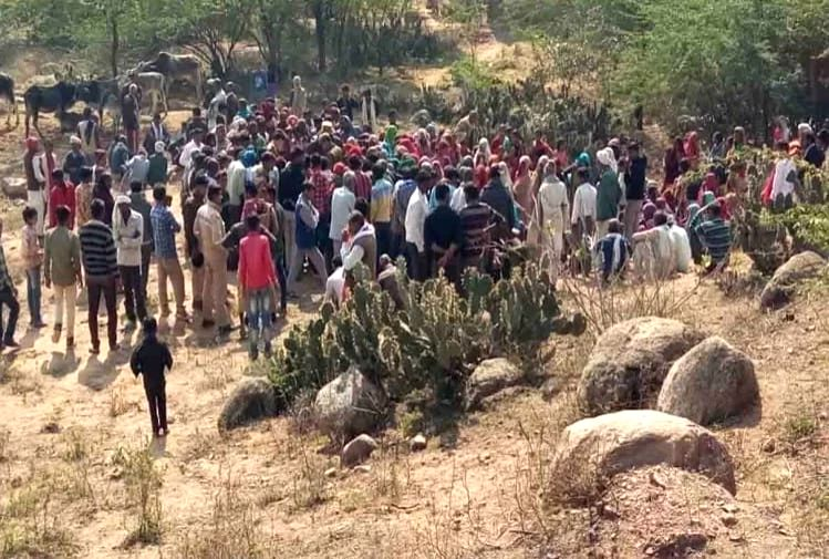 dead body of lover couple found in mountain, fear of suicide by consuming poison.