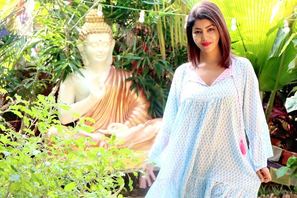 Debina Bonnerjee celebrates lockdown birthday second year in a row. - Debina Bonnerjee