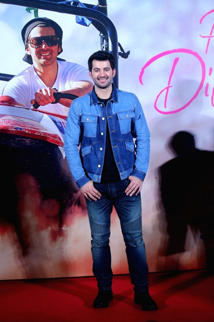 """Debutant Karan Deol at the trailer launch of his upcoming film """"Pal Pal Dil Ke Paas"""" in Mumbai, on Sep 5, 2019."""