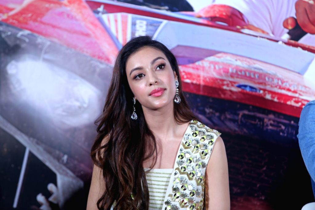"""Debutant Sahher Bambba at the trailer launch of her upcoming film """"Pal Pal Dil Ke Paas"""" in Mumbai, on Sep 5, 2019."""