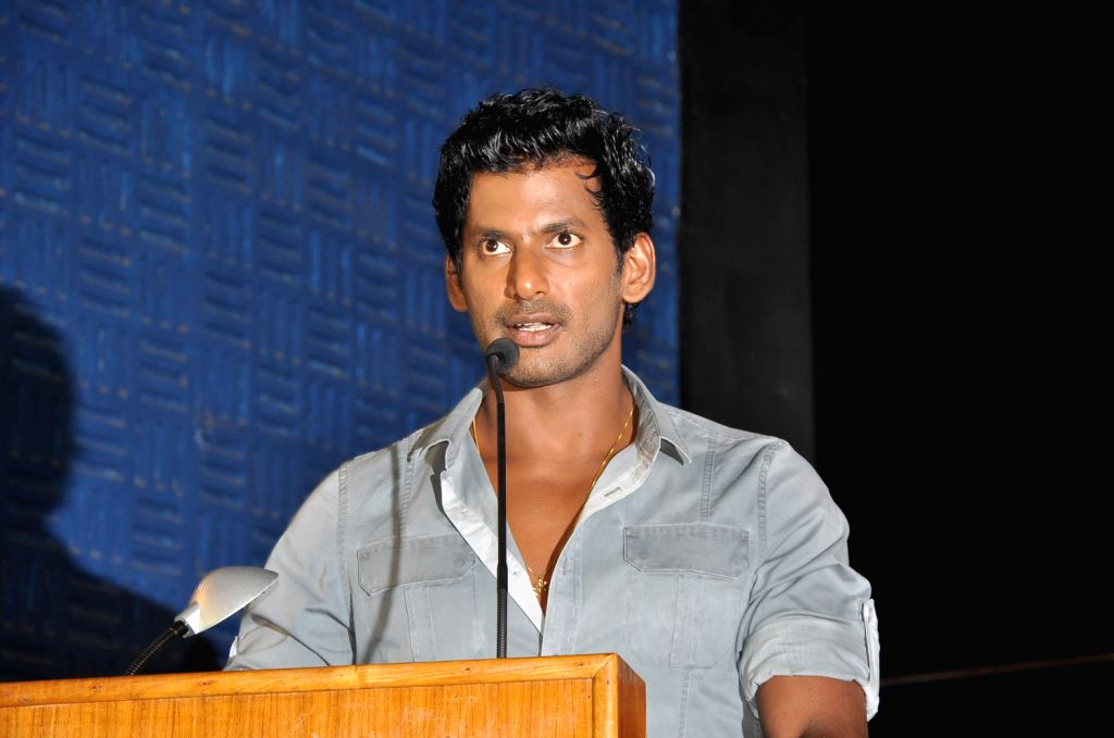 "Debutant Sashikanth to direct Vishal in ""Shukra"