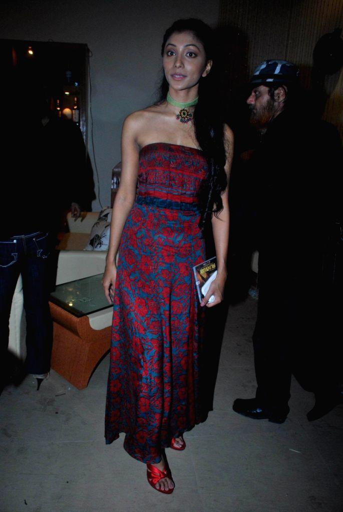 "Deepal Shaw at music launch of film ""Runway"" in Mumbai."