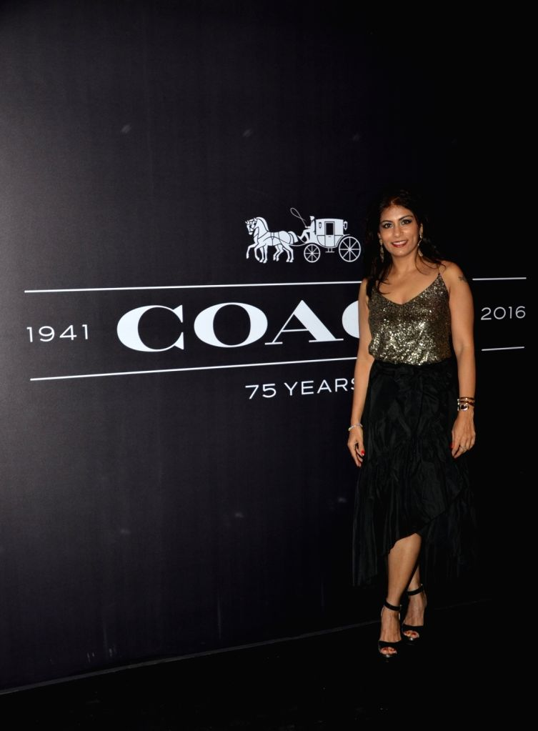 Deepika Gehani during the Coach launch celebrations in Mumbai, on Aug 4, 2016. Coach celebrates  the launch of its first store in India.