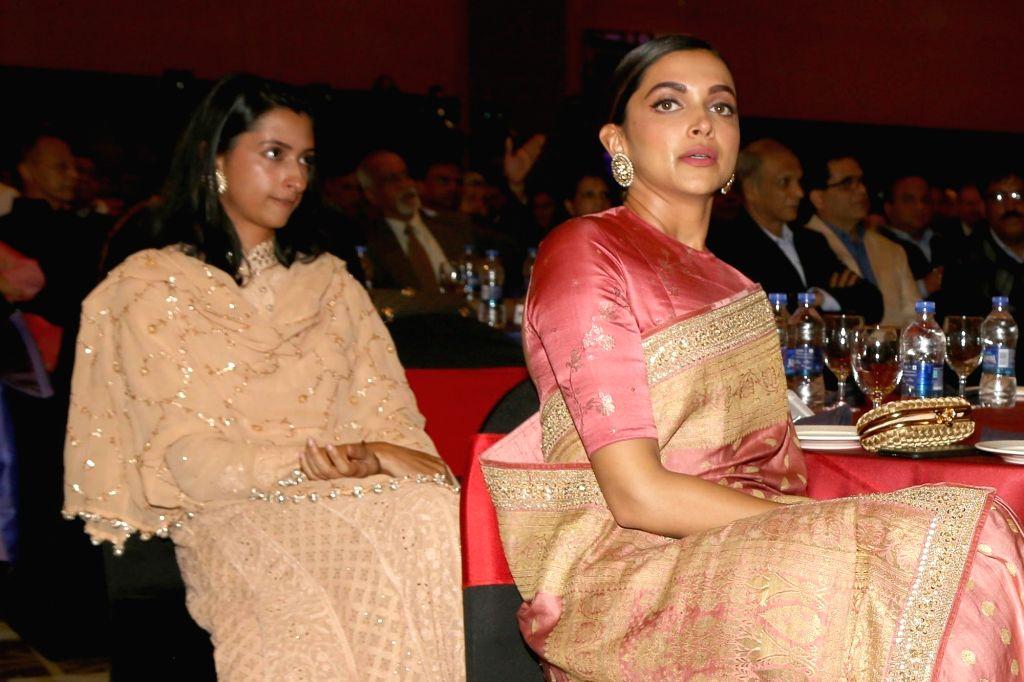 Deepika Padukone and Anisha. (Photo: Amlan Paliwal/ IANS) - Deepika Padukone