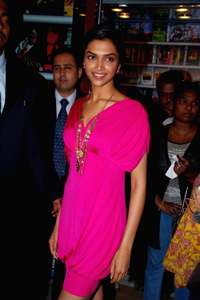 "Deepika Padukone at a press meet of movie ""Love Aaj Kal"" at PVR, in Mumbai. - Deepika Padukone"