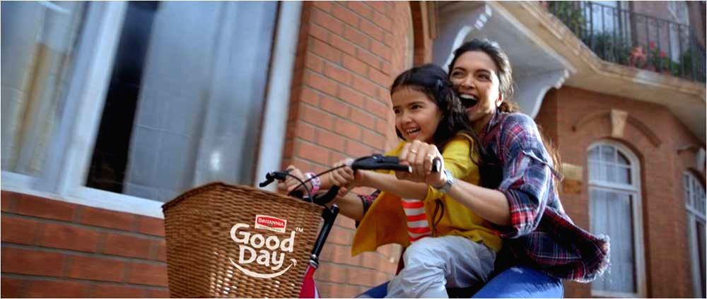 Deepika Padukone in Britannia Good Day Smile More Campaign - Deepika Padukone