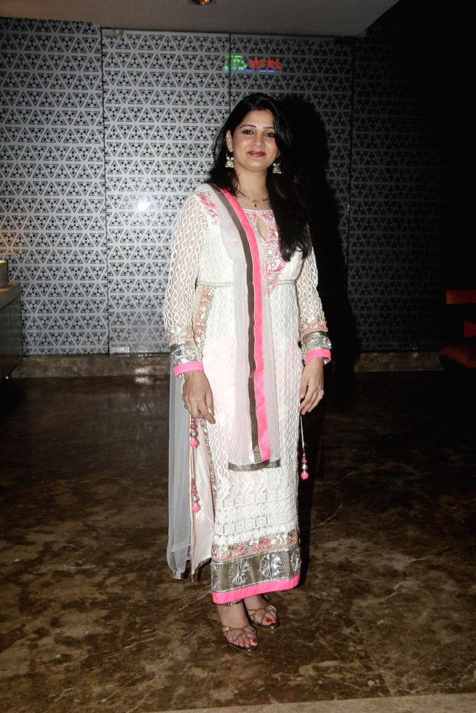 Deepti Dhyani during the hosted a party by Aneel Murarka in Mumbai, on Sept. 5, 2014.