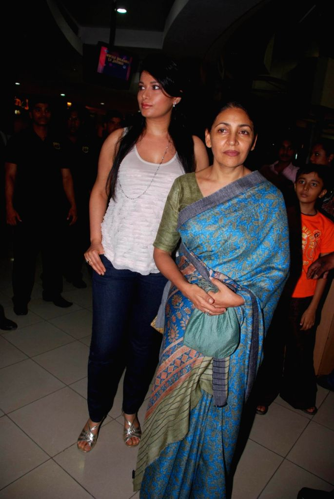 Deepti Naval at the release of Hindi Version of Dashavatar.