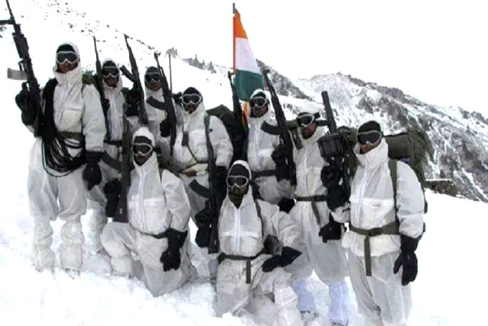Defence chief negates CAG report on shortage and use of sub-standard high-altitude clothing.