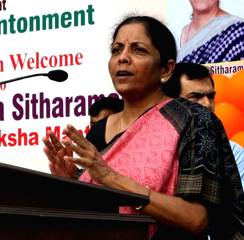 Defence Minister Nirmala Sitharaman. (File Photo: IANS) - Nirmala Sitharaman