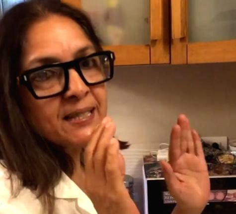 Dehradun, April 25 (IANS) Veteran actress Neena Gupta believes in gender equality. And her recently Instagram video clearly proves it. - Neena Gupta