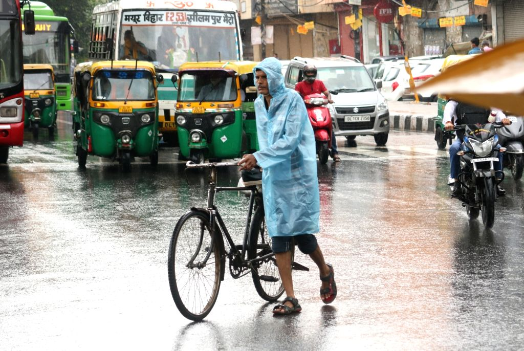 Delhi air improves as more rain forecast
