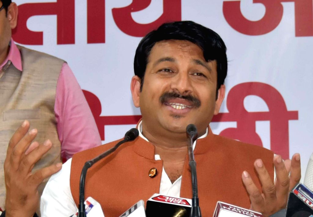 Delhi BJP chief Manoj Tiwari. (File Photo: IANS)