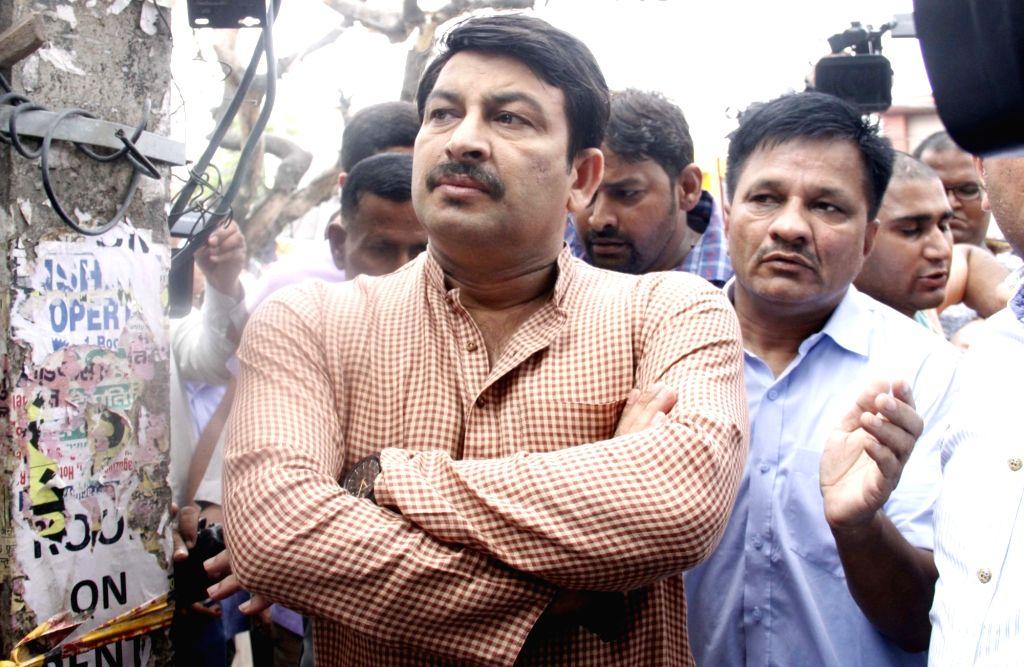 Delhi BJP chief Manoj Tiwari. (Photo: IANS)