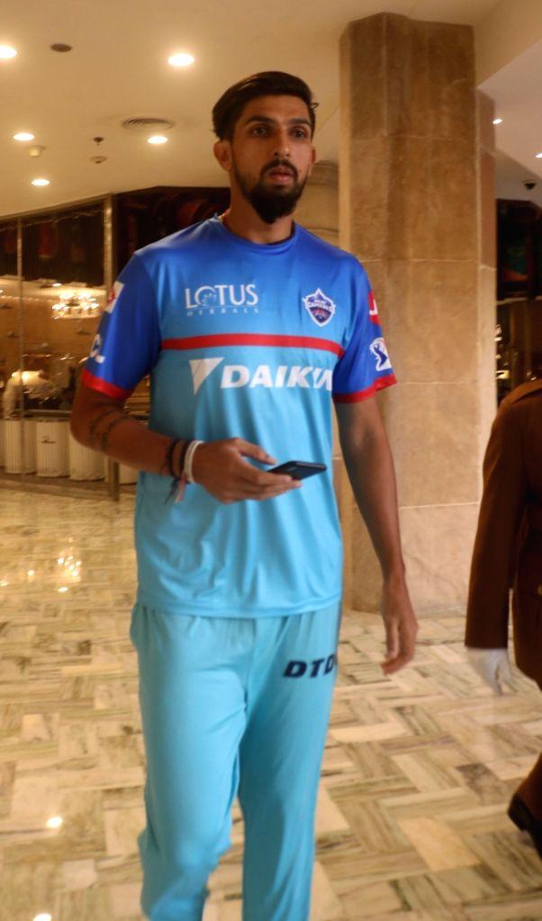 Delhi Capitals bowler Ishant Sharma at a press conference in New Delhi, on March 16, 2019. - Ishant Sharma