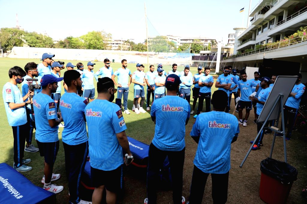 Delhi Capitals have their first nets session