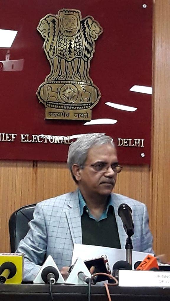Delhi CEO Ranbir Singh. - Ranbir Singh