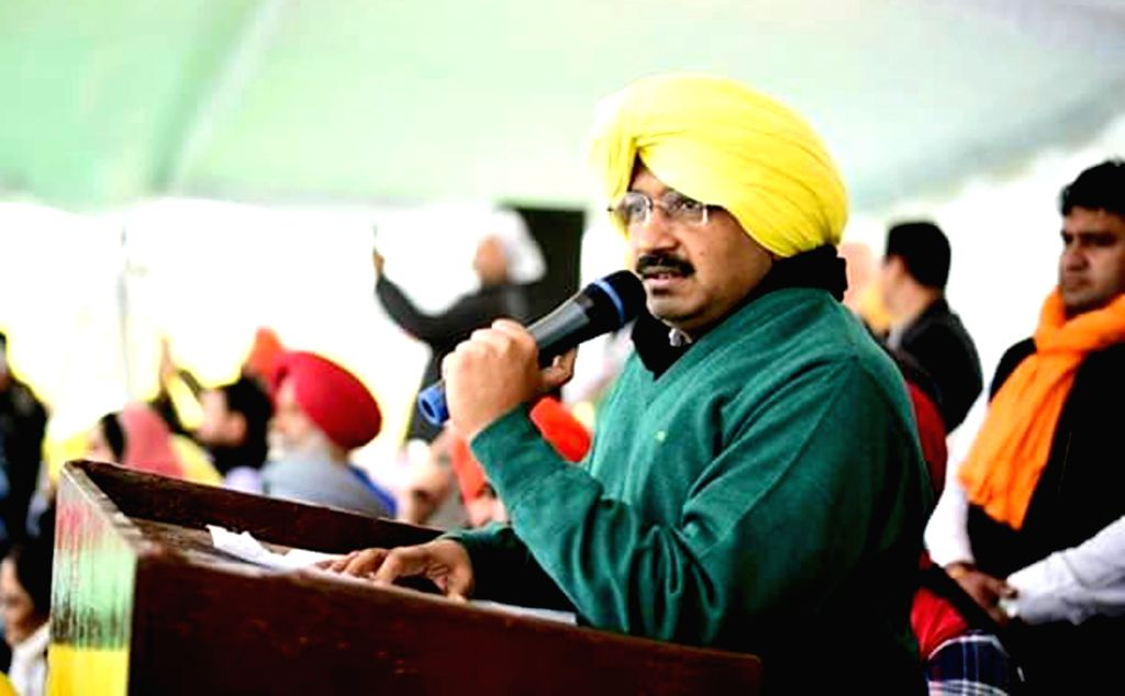 Delhi Chief Minister and AAP leader Arvind Kejriwal during a party rally in Muktsar of Punjab on Jan 14, 2016. - Arvind Kejriwal