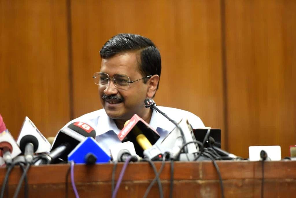 Delhi CM Arvind kejriwal pc.