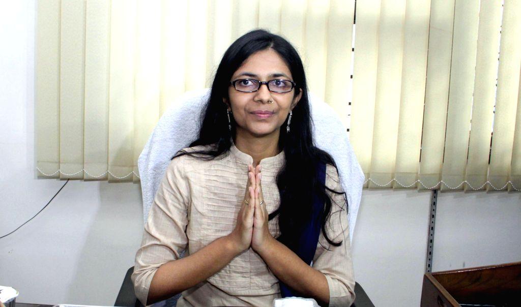 Delhi Commission for Women (DCW) chief Swati Maliwal. (File Photo: IANS)
