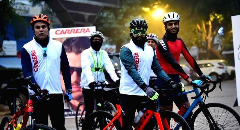 Delhi cyclothon promotes green, healthy living (IANSlife)