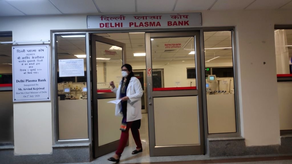 Delhi govt frames policy for Delhi Plasma Bank.