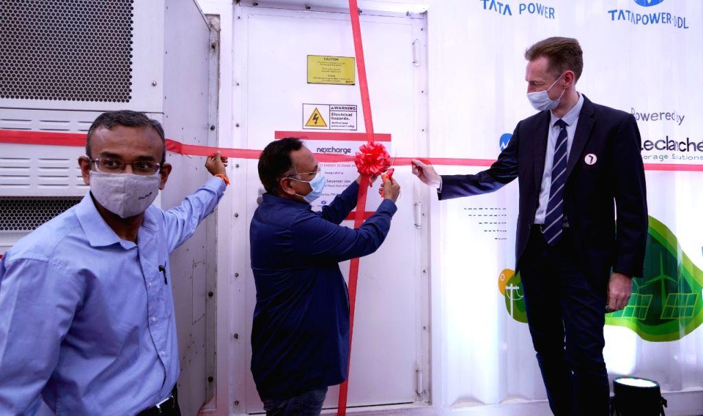 Delhi govt sets up grid-connected power storage system in Rani Bagh (Twitter)