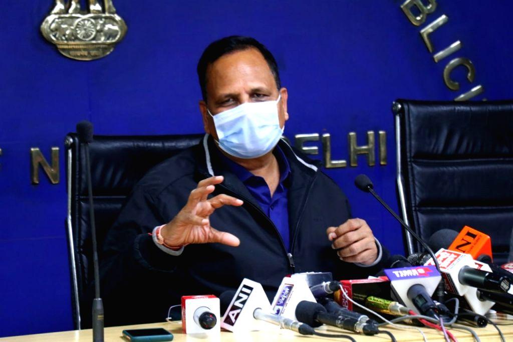 Delhi Health Minister denies possibility of lockdown