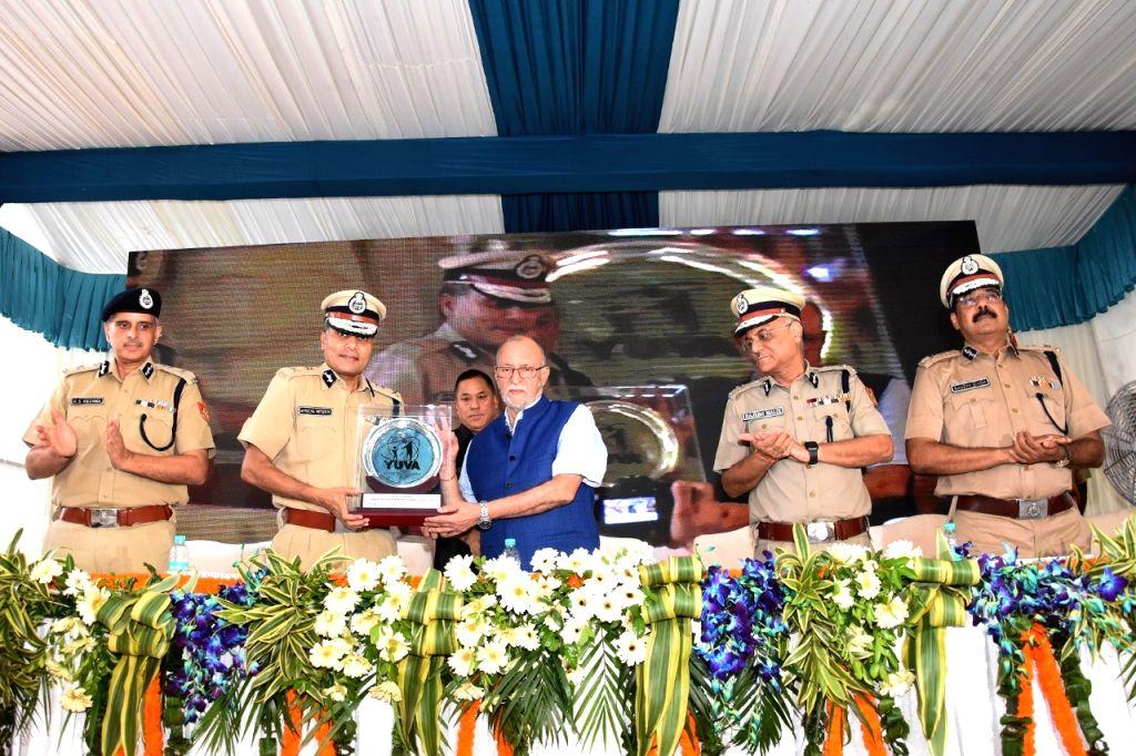 Delhi Lieutenant Governor (LG) Anil Baijal at the inauguration of Yuva Skill Center in New Delhi on Sep 5, 2019.