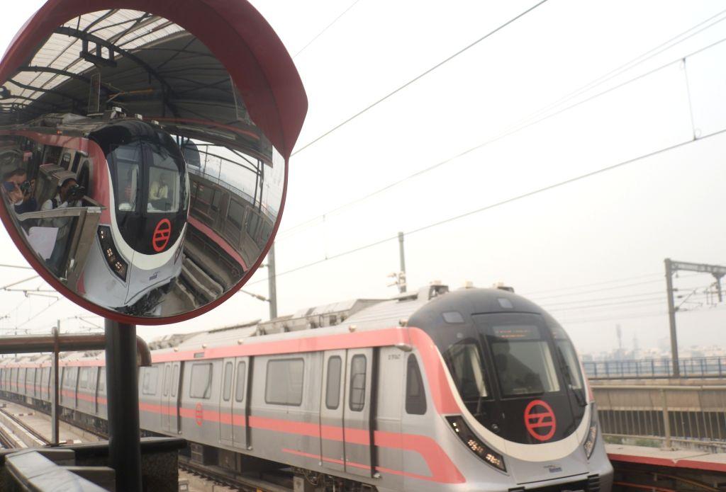 Delhi Metro Pink Line. (File Photo: IANS)
