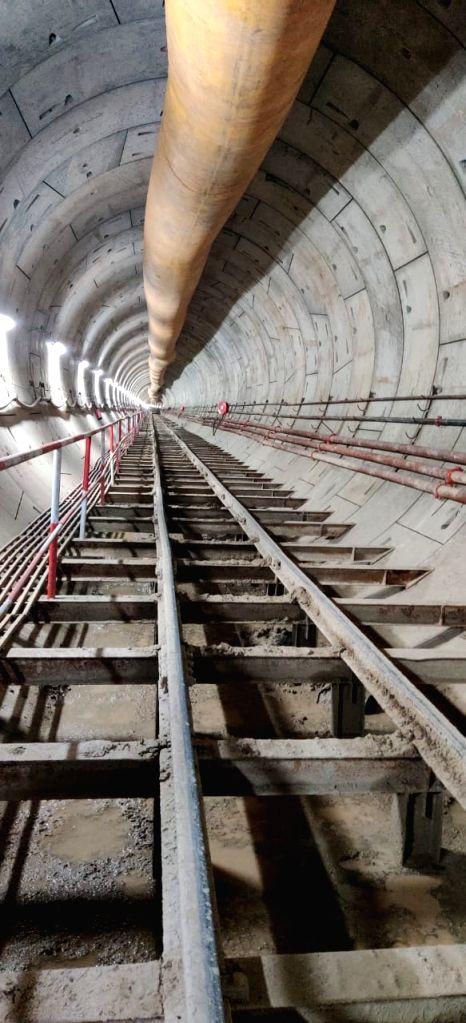 Delhi Metro Rail Corporation (DMRC) Phase-IV work continues despite Covid constraints.