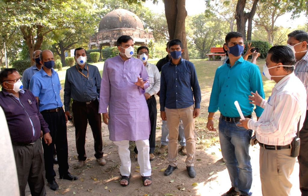 Delhi Minister Gopal Rai visits Delhi Zoo to review the situation after nine migratory birds were found dead over the last one week due to H5 virus, which causes avian influenza, or bird ... - Gopal Rai