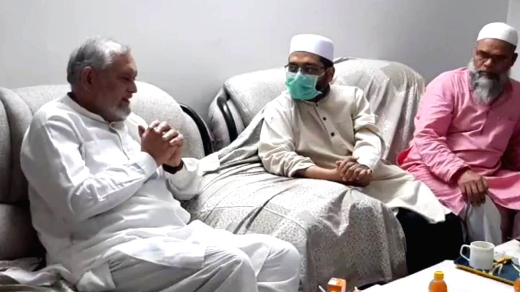 Delhi Minority Commission Cairman Zafarul-Islam Khan at his residence.