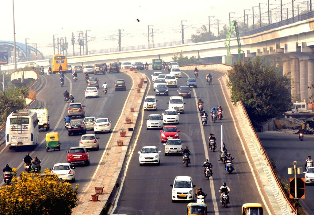 Delhi Noida Direct Flyway, New Delhi, Oct 7, 2019. (File Photo: Amlan Paliwal/IANS)