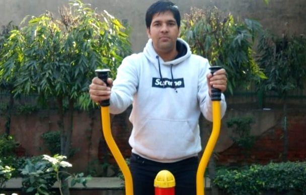 Delhi Police Constable Amit Rana.