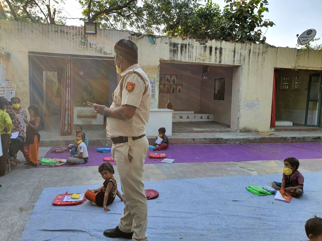 """Delhi Police 'Constable's School', """"I got out of the slums, I know the importance of education""""."""