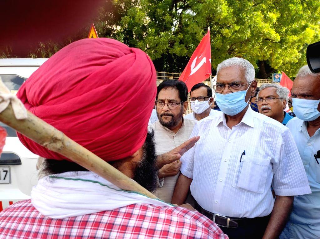 Delhi police imposed rule 144 at ITO