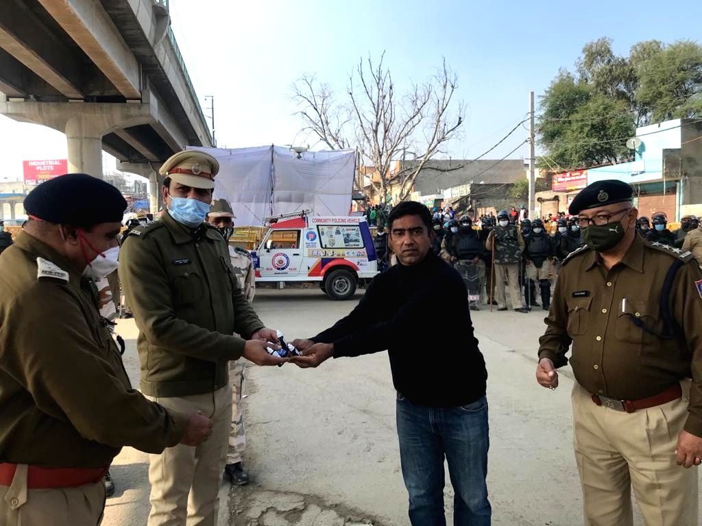 Delhi POLICE joins hands with I2cure to fight against COVID-19 in the Capital