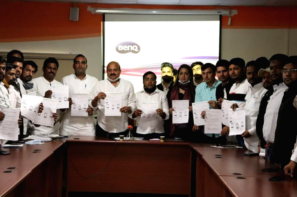 Delhi Pradesh Youth Congress membership campaign begins.