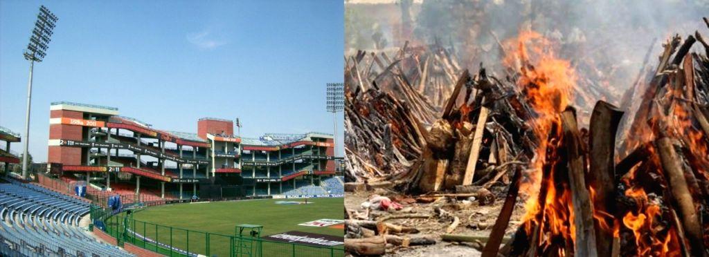 Delhi recorded more deaths than runs scored on IPL match days.
