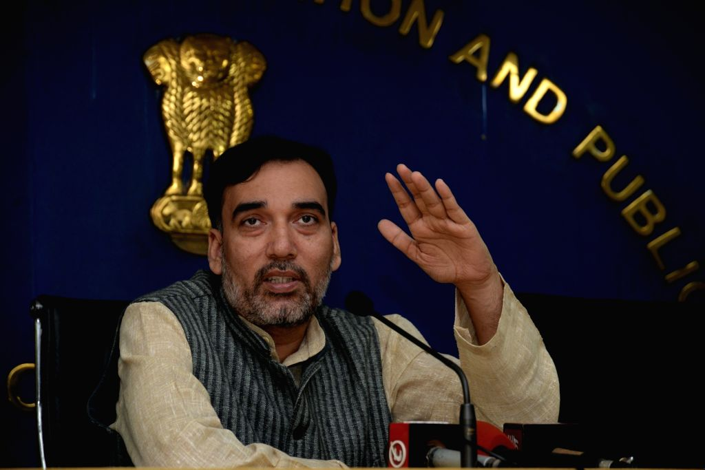 : Delhi Rural Development Minister Gopal Rai. (File Photo: IANS).