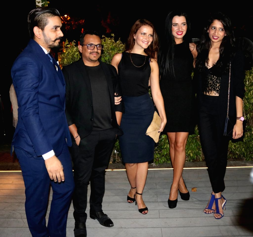 Delhi socialites during a programme organised by American women's fashion magazine - Harper's Bazaar in New Delhi, on April 13, 2016.