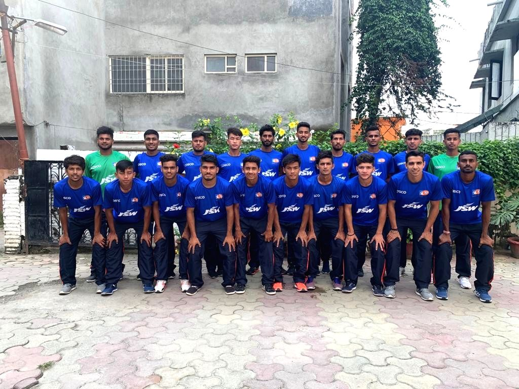Delhi State Football team for the National Football Championship for Santosh Trophy.