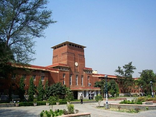 Delhi University.