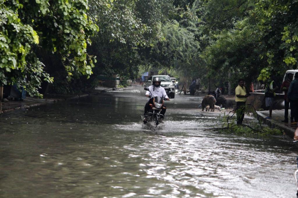 Delhi Waterlogging.